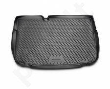 Guminis bagažinės kilimėlis CITROEN C3 hb  2010->  black /N08008
