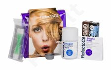 RefectoCil Eyelash And Eyebrow Tint, rinkinys blakstienų priežiūrai moterims, (Eyelashes Color 15 ml + Eyelashes Color 15 ml 2 + Oxidant 3% 100 ml + Silicone Pads 2 pcs + Depilation Stripes 4 pcs + Bowl + krepšys), (3 Natural Brown)