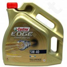 Variklio alyva CASTROL EDGE FST Turbo Diesel Titanium 5W40 4L