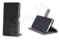 Sony Xperia E4G dėklas SMART ELEG Forever juodas
