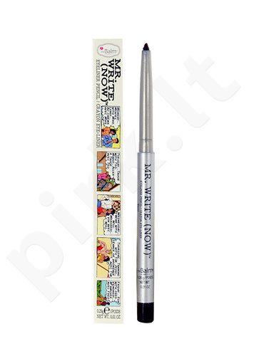 TheBalm Mr. Write (Now) akių kontūrų priemonė Pencil, kosmetika moterims, 0,28g, (Vince B. Charcoal)