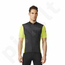 Marškinėliai rowerowa Adidas Supernova Reflectivity SS Jersey M AI2821
