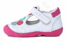 D.D. step balti batai 20-24 d. 015171u