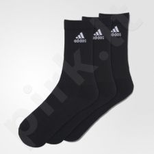 Kojinės Adidas 3 Stripes Performance Crew 3 poros AA2298