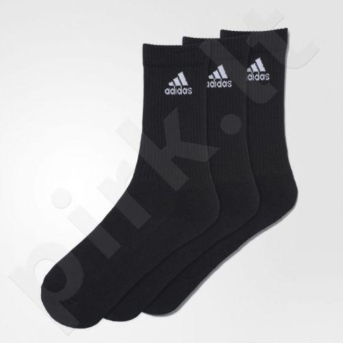 Kojinės Adidas 3 Stripes Performance Crew 3 poros AA2298