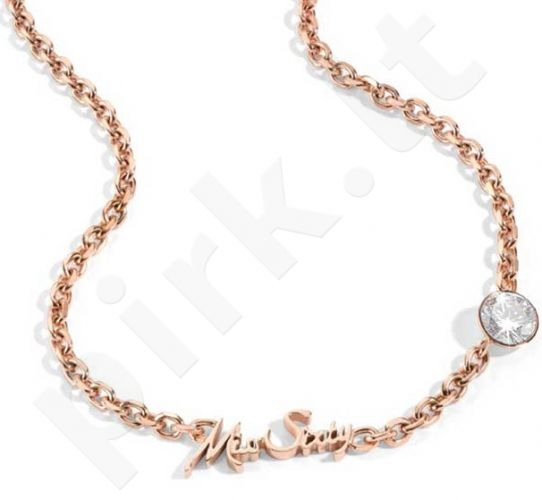 MISS SIXTY JEWELS LINDA vėrinys ROSE GOLD (45cm )