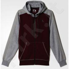Bliuzonas  Adidas Sport Essentials 3-Stripes Fleece Hoodie M AY5480