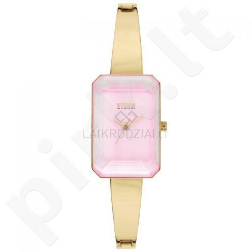 Moteriškas laikrodis STORM Mila Gold Pink