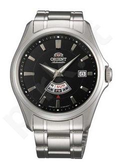 Laikrodis ORIENT DAY & - automatinis -S /S Case - S /S apyrankė - Day & - Analog - WR 50m -