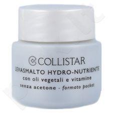 Collistar Hydro-Nourishing nagų lako valiklis In A Sponge, kosmetika moterims, 30ml