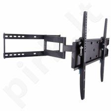 Techly Sieninis laikiklis TV LCD/LED/PDP 23-55'' 50kg VESA pilna regul. juodas