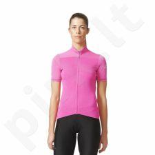 Marškinėliai rowerowa Adidas Supernova Climachill Jersey W AI2825
