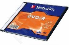 DVD-R Verbatim [ slim jewel case 100 | 4,7GB | 16x ]