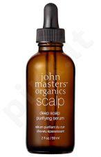 John Masters Organics Deep Scalp Purifying serumas, kosmetika moterims, 59ml