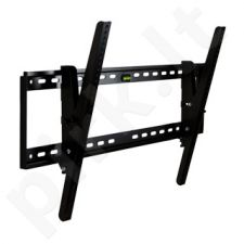 4World LCD/PDP sieninis laikiklis 30-54'', palenkimas 15° TV svoris iki 60kg BLK