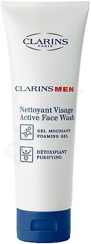 Clarins Men Active Face Wash, kosmetika vyrams, 125ml