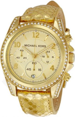 Laikrodis MICHAEL KORS chronometras GOLD-TONE 37mm