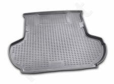 Guminis bagažinės kilimėlis CITROEN C-Crosser 2007 -2010 black /N08019