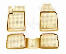 Guminiai kilimėliai 3D OPEL Vectra 2003-2008, wg, 4 pcs. /L51024B /beige