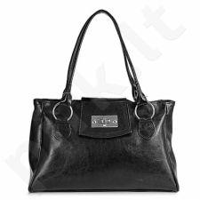 DAN-A T197 juoda rankinė iš natūralios odos , moteriška