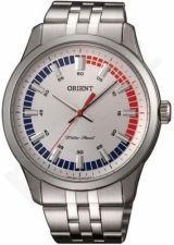 Laikrodis ORIENT VINTAGE - vyriškas kvarcinis Mov. - Mineral Crystal - S /S Case - S /S apyrankė - Analog / WR 50m -