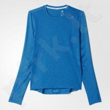 Marškinėliai bėgimui  Adidas Supernova Long Sleeve Tee W B43381