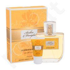 Sireta Collection Ambra & Vaniglia rinkinys moterims, (EDP 100 ml + dušo želė 20 ml)