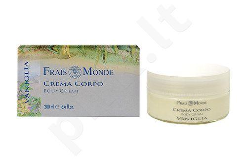 Frais Monde kūno kremas Vanilla, kosmetika moterims, 200ml