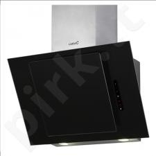 Cata CERES 600 XGBK Black Glass Wall hood