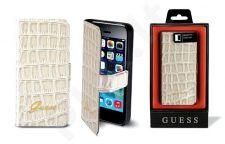 Samsung Galaxy A3 dėklas book Guess beige croco
