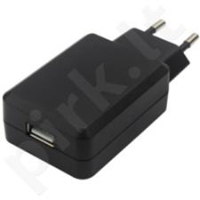 Akyga USB charger AK-CH-06 240V 2.1A 1xUSB black