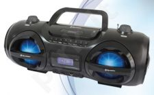 Nešiojama radija su CD USB(MP3)RoadstarCDR-485US/BK