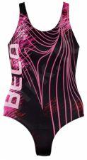 Plaukimo kostiumas moterims AQUA 6470 04 36 black/pink