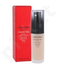 Shiseido Synchro Skin ilgalaikis makiažo pagrindasSPF20, kosmetika moterims, 30ml, (Rose 2)