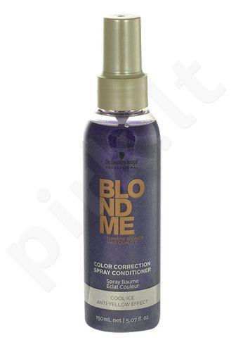 Schwarzkopf Blond Me Color Correction purškiamas kondicionierius, kosmetika moterims, 150ml