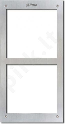 Front panel for 2 modules VTOFR2
