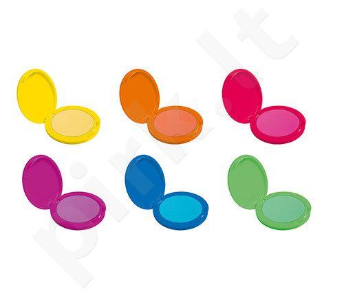 Dermacol Neon Hair pudra, kosmetika moterims, 2,2g, (Glitter Pink)