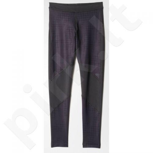Sportinės kelnės Adidas Techfit Coldweather Long Tight AOP W AY6117