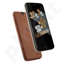 Telefonas Just5 Freedom X1 Dual SIM rudas