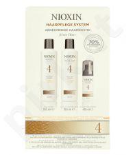 Nioxin System 4 valantis šampūnas rinkinys moterims, (150ml System 4 valantis šampūnas + 150ml System 4 Scalp Revitaliser kondicionierius + 40ml System 4 Scalp Treatment)