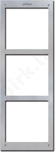 Front panel for 3 modules VTOFR3