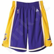 Šortai krepšiniui Adidas Los Angeles Lakers NBA Swingman M A20640
