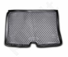 Guminis bagažinės kilimėlis CITROEN Nemo van 2008-> black /N08029
