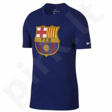Marškinėliai Nike FCB M NK Tee Evergreen Crest M 898621-455