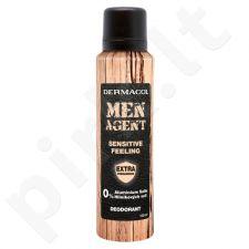 Dermacol Men Agent, Sensitive Feeling, dezodorantas vyrams, 150ml