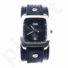 Vyriškas laikrodis STORM PIRELLO BLACK BLACK LEATHER