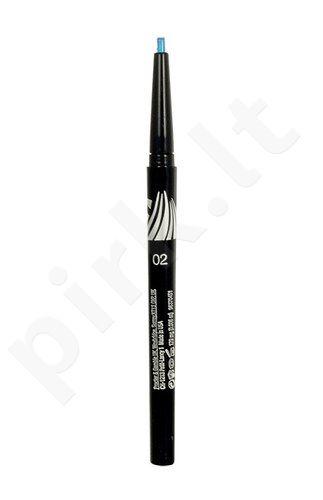 Max Factor Excess Intensity Longwear akių kontūrų priemonė, kosmetika moterims, 2g, (05 Silver)