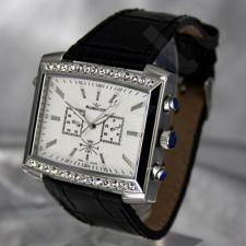 Moteriškas laikrodis RUBICON RN10B22 LS WH BK