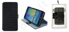 Samsung Galaxy A3 dėklas STAND Kenzo juodas su krokodilo odos imitacija