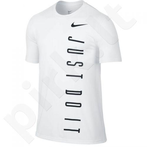 Marškinėliai treniruotėms Nike Legend 2.0 Vertical Just Do It Tee M 779174-100